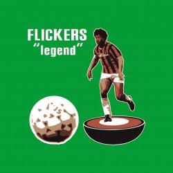 Old Subbuteo rosso neri flickers legend.