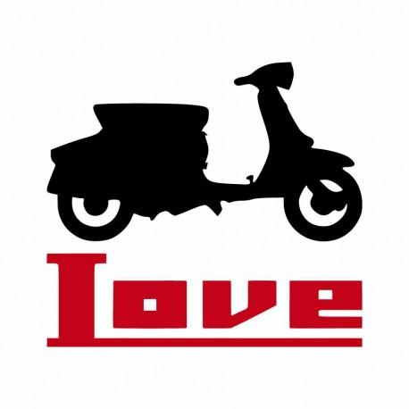 Scooter classico Lambretta Innocenti mods culture.