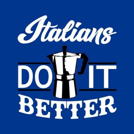 Gli italiani fanno meglio il caffè.