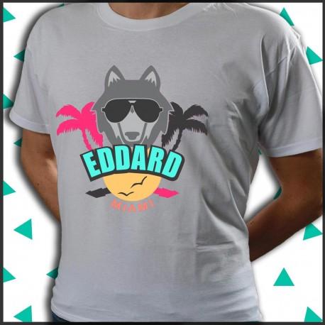 Eddard Miami beach maglietta da spiaggia.