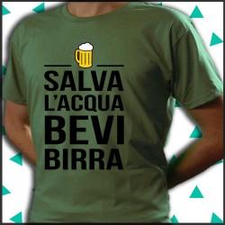 Salva l'acqua e bevi birra.