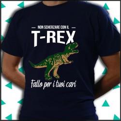 Dinosauro T-rex divertente.