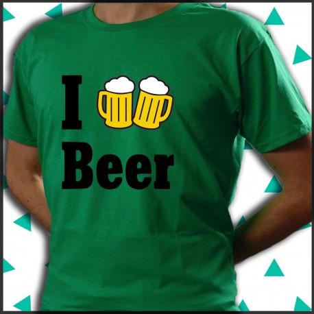 Love beer amo la birra.