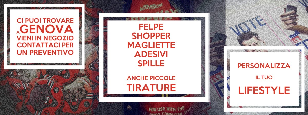 Magliette personalizzate a Genova